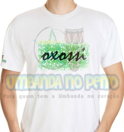 Camiseta Okê Senhor Oxossi