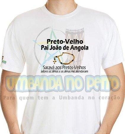 Camiseta Pai João de Angola