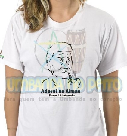 Camiseta Salve Vovô, Adorei as Almas
