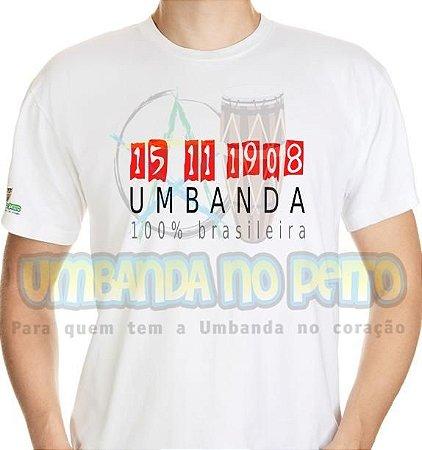 Camiseta Umbanda é Brasileira