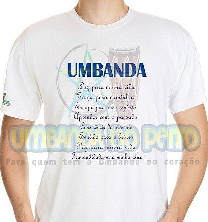 Camiseta Umbanda é