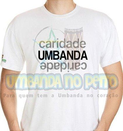 Camiseta Umbanda Caridade