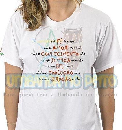 Camiseta Tronos da Umbanda