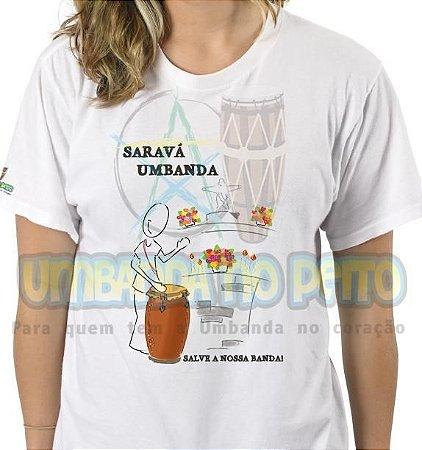 Camiseta Saravá Umbanda