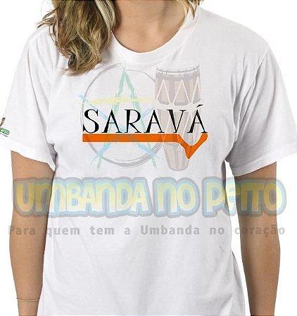 Camiseta Saravá