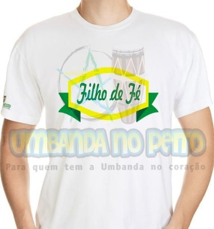 Camiseta Filho de Fé