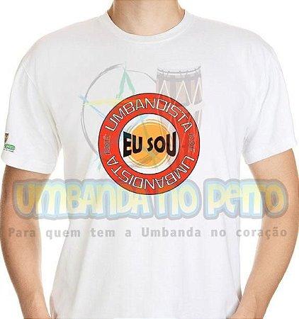 Camiseta Eu Sou Umbandista