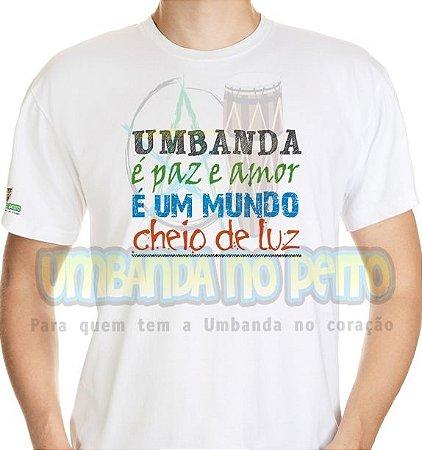 Camiseta É Paz, É Amor