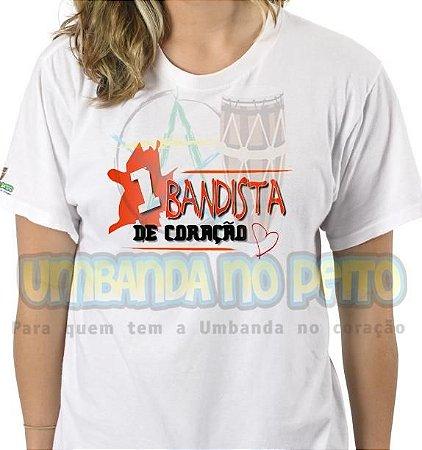 Camiseta 1 Bandista de Coração