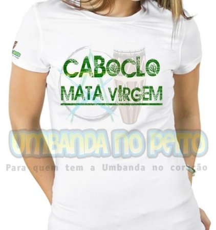 Baby Look Caboclo Mata Virgem