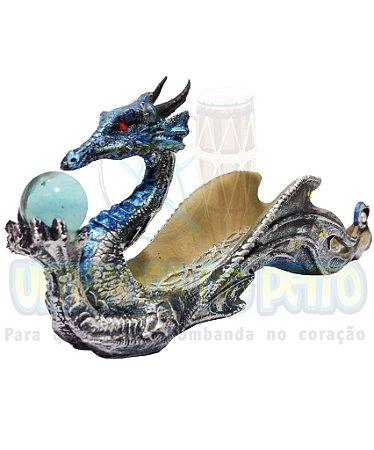 Incensário Dragão (Amarelo)