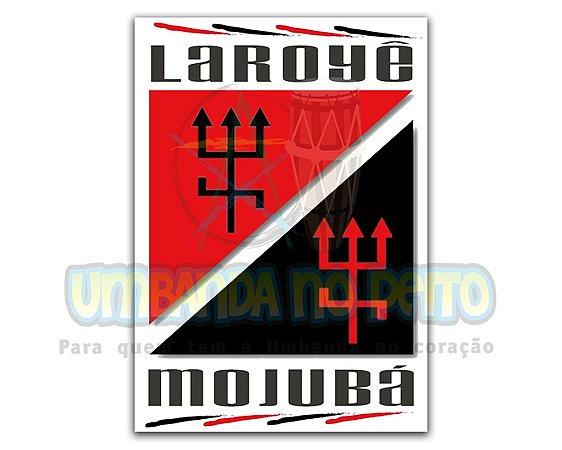 Adesivo Laroyê Mojubá