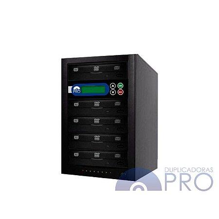 Duplicadora de DVD e CD com 5 Gravadores Philips / Lite-on