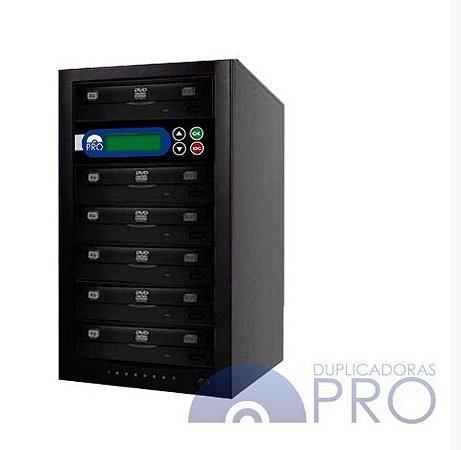 Duplicadora de DVD e CD com 6 Gravadores Philips / Lite-on