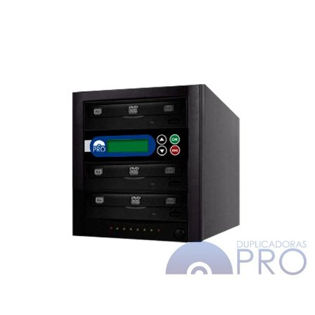 Duplicadora de DVD e CD com 3 Gravadores Philips / Lite-on