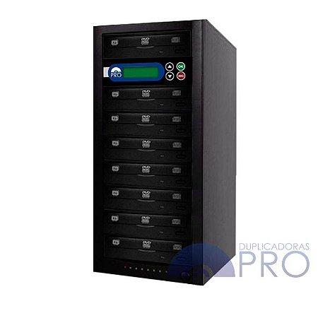 Duplicadora de DVD e CD com 8 Gravadores Philips / Lite-on