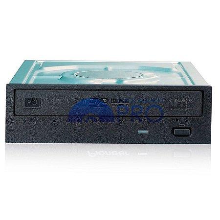 Gravador DVD e CD Pioneer 24X SATA Preto DVR-221LBK