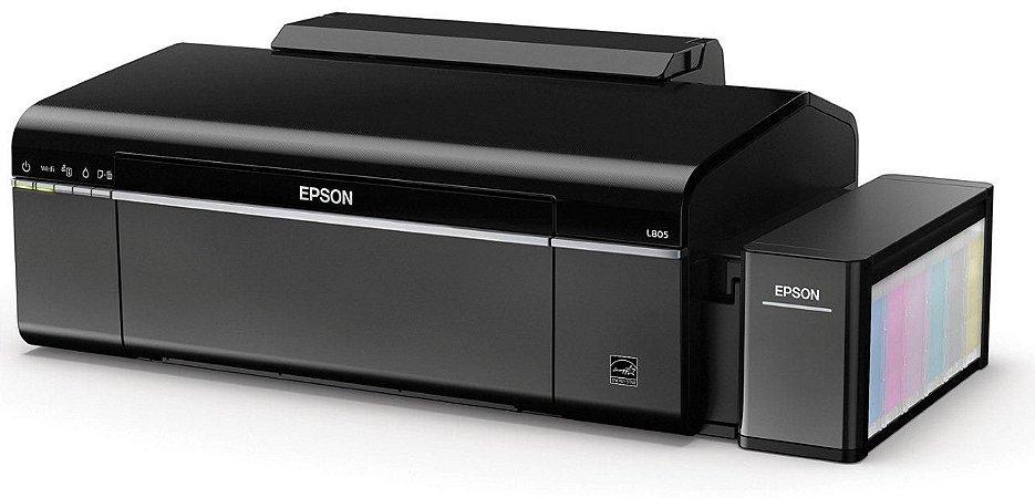 Impressora de DVD e CD Epson EcoTank L805 Tanque de Tinta Original