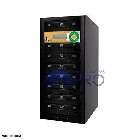 Duplicadora de DVD e CD com 8 Gravadores Philips / Lite-on + Controladora LSK 2000