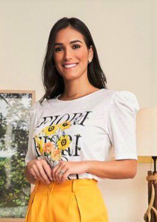 Camiseta Fiori