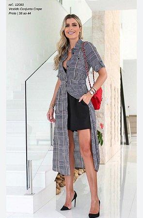 Vestido Vichy Conjunto Short