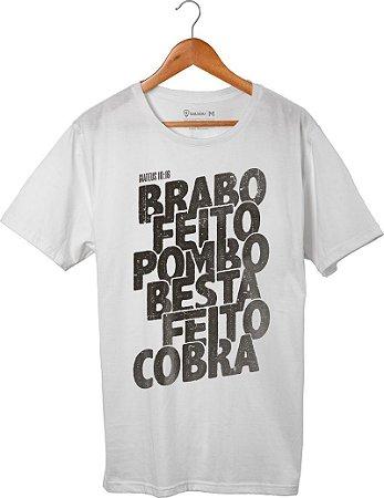 Camiseta Pombo e Cobra