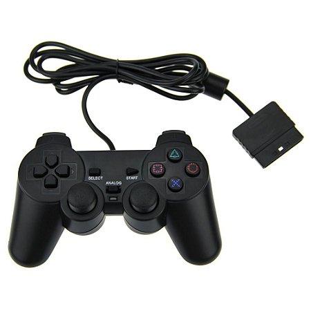 Controle Manete Joystick Playstation 2