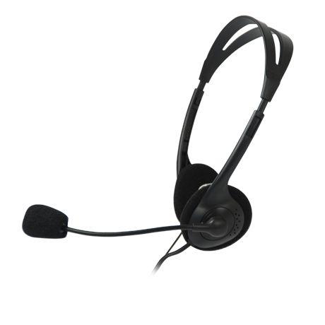 Headphone C3tech Ct662040 Bk Voicer Light