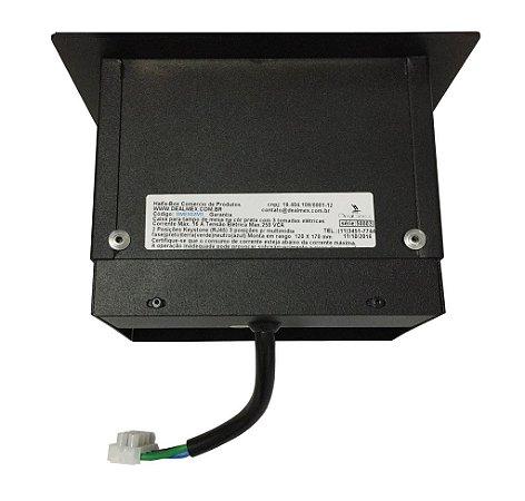 Caixa Para Conexões Em Mesas Com Tomadas E Conexão VGA