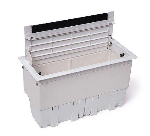 Caixa de Conexões Para Mesas Em ABS Sem Conexões - QM17AB-M