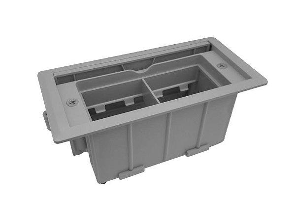 Caixa De Tomada Para Embutir Sem Conexões - QMF5-M