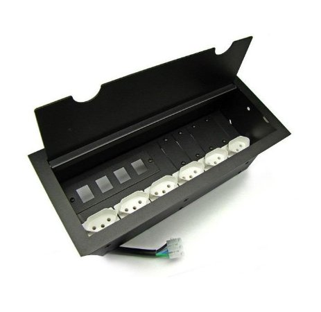 KIT 2 DMEX14-MX, 2 USB Charger, 2 HDMI , 8 Espelho RJ aço