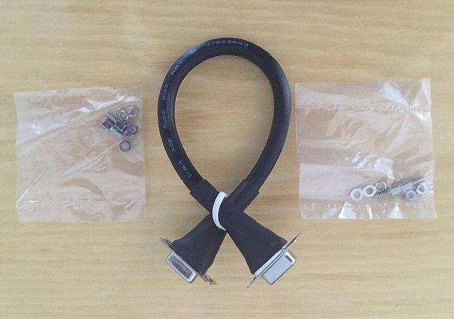 Petch Cord VGA 25cm Para Painel De Mesa ou Espelho De Parede