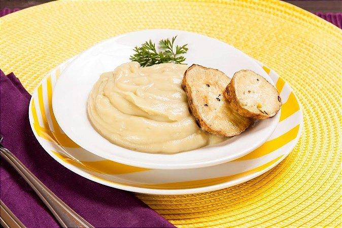 Purê de batata doce - sem leite