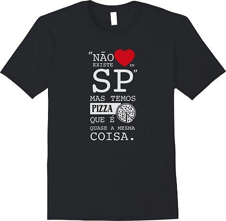 Não existe amor em SP, mas temos Pizza que é quase a mesma coisa
