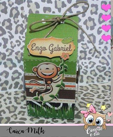 Caixa Milk Safari