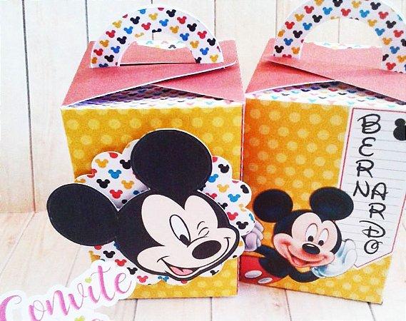 Caixa com Alça Mickey
