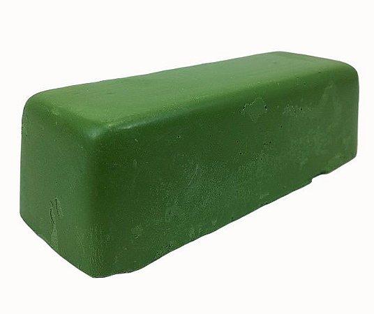 Pasta para afiar navalhas e facas verde cromo jacare