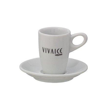 Xícara de Café Genova com Pires 70 ml