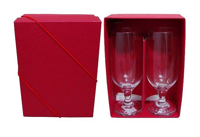 Kit 2 Taças Floripa com Caixa Forrada Color Plus