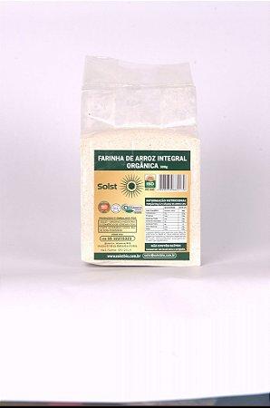 Farinha de Arroz Orgânico Integral Solst 500g