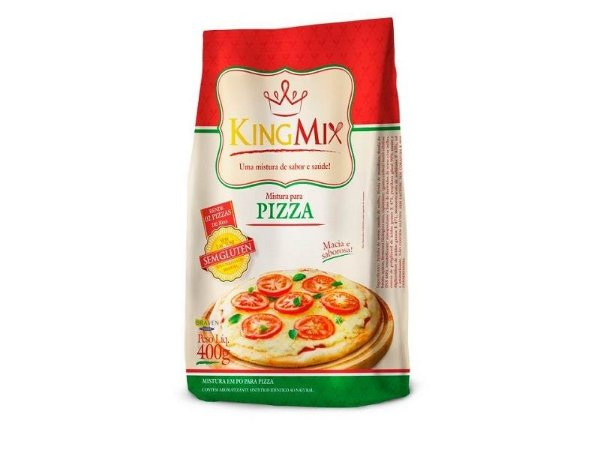Mistura para Pizza King Mix 400g