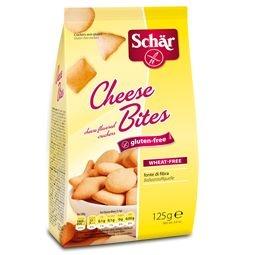 Biscoito salgado Cheese Bites Schar 125g