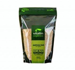 Quinoa Real Orgânica em Grãos Vitalin 400g