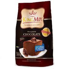 Mistura para Bolo de Chocolate Zero Açúcar King Mix 300g