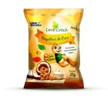 Sequilhos de Coco Sem Glúten Leve Crock 25g
