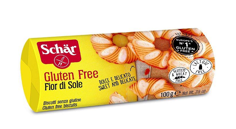 Biscoito Doce Fino Fior di Sole Sem Glúten Schar 100g