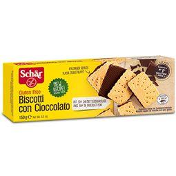 Biscoito Biscotti Con Cioccolato Schar Sem Glúten 150g