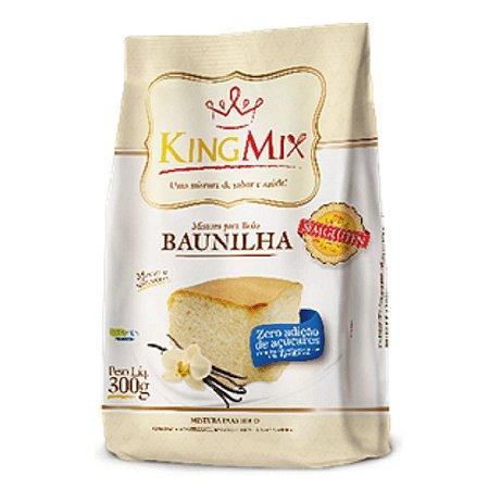 Mistura para Bolo de Baunilha Zero Açúcar King Mix 300g