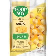 Snack de Soja Sabor Queijo Sem Glúten Good Soy 25g